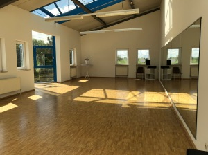 Studio 2 mit dem Blick von der Tür