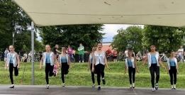 Kinder auf der Bühne - Stepptanz